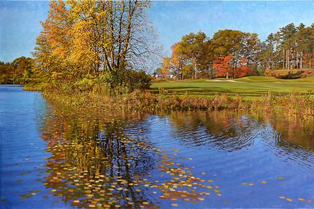 Autumn at the Golf Course (The Falcon)