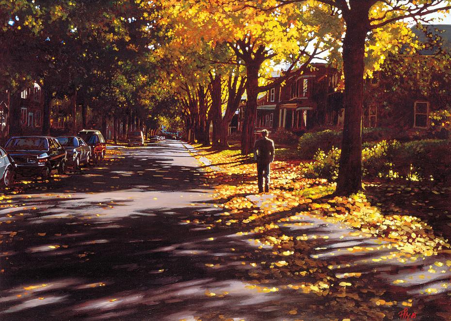 Westmount in Autumn (SOLD)