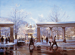 McGill Roddick Gates, Montreal (SOLD)