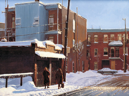 Afternoon Light, Montreal (SOLD)
