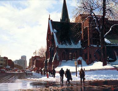 Saint James Church, Montreal (SOLD)