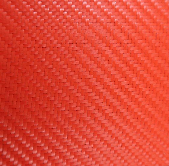 Aluminized Fiberglass - RED (Back) - 2x2 Twill - (3k) - 9.14oz