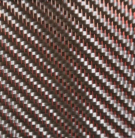 Mirage Carbon Fiber - RED - 2x2 Twill - (3k) - 8.6oz