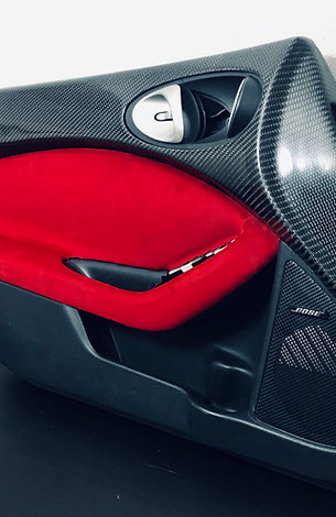 Carbon Fiber 370Z Upper Door Panels