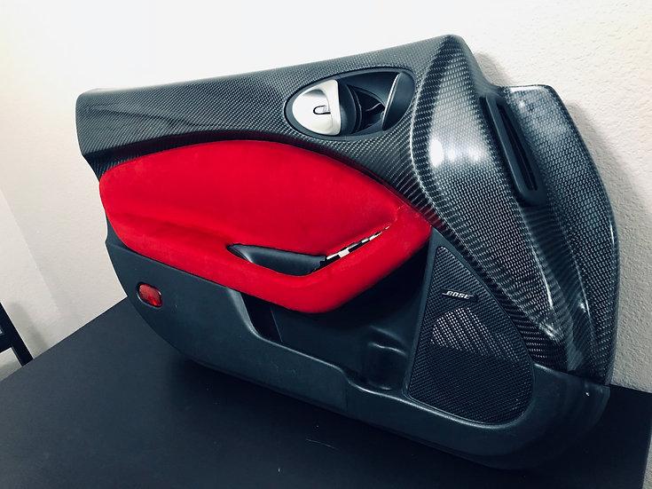 Carbon Fiber 370Z Upper Door Panels