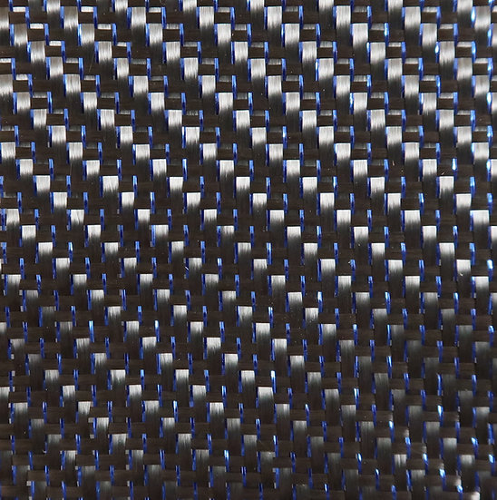 Reflections Carbon Fiber - BLUE - 2x2 Twill - (3k) - 5.9oz