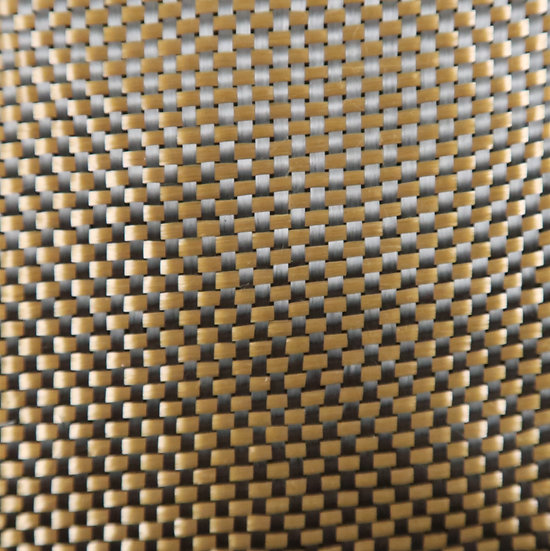 Carbon/Kevlar - BRONZE - Plain Weave - (3k) - 5.5oz