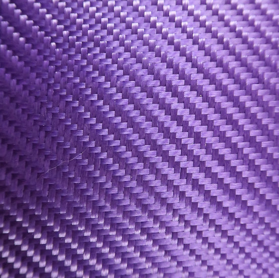 Aluminized Fiberglass - PURPLE (Back) - 2x2 Twill - (3k) - 9.14oz