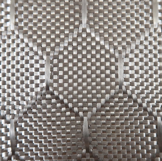 Aluminized Fiberglass - SILVER - Honeycomb - 9.73oz