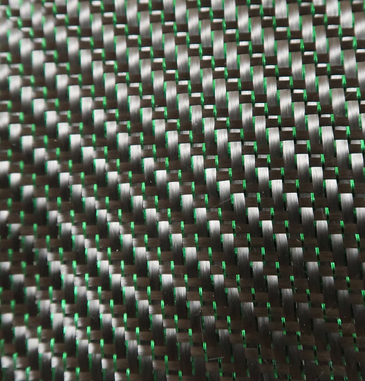 Reflections Carbon Fiber - GREEN - 2x2 Twill - (3k) - 5.9oz