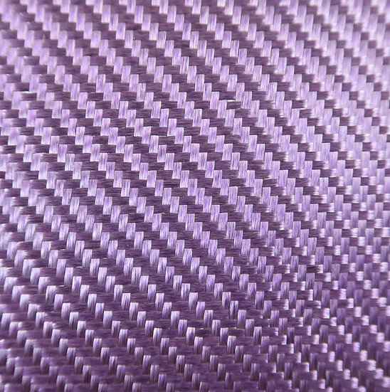 Aluminized Fiberglass - PURPLE (Front) - 2x2 Twill - (3k) - 9.14oz