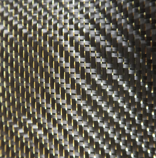 Reflections Carbon Fiber - GOLD - 2x2 Twill - (3k) - 5.9oz