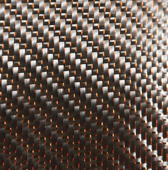 Reflections Carbon Fiber - COPPER - 2x2 Twill - (3k) - 5.9oz