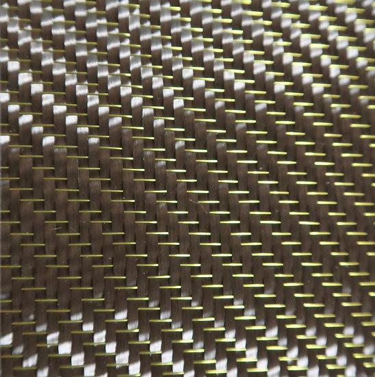 Mirage Carbon Fiber - YELLOW - 2x2 Twill - (3k) - 8.6oz