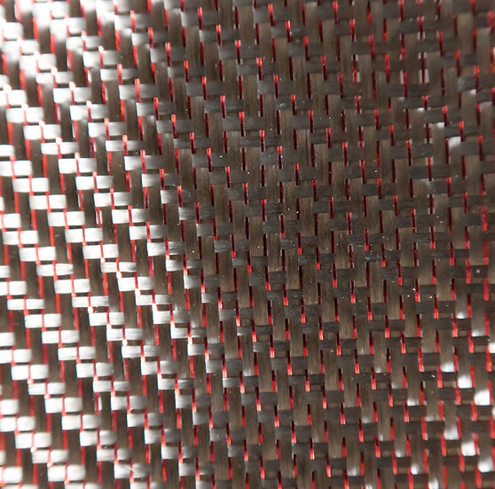 Reflections Carbon Fiber - RED - 2x2 Twill - (3k) - 5.9oz