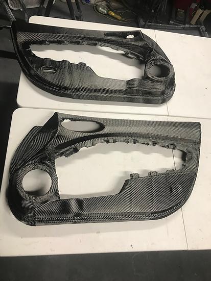 Carbon Fiber 370Z Full Door Panels