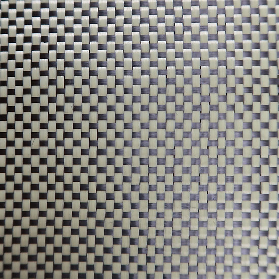 Carbon/Kevlar - YELLOW - Plain Weave - (3k) - 4.8oz