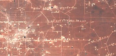 Satellite-image-Texas-wellpads