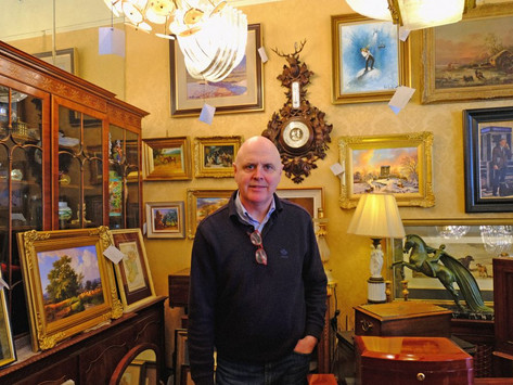 Will the Francis Street refurbishments affect the antique tradition?
