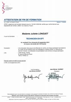 attestation-EFT
