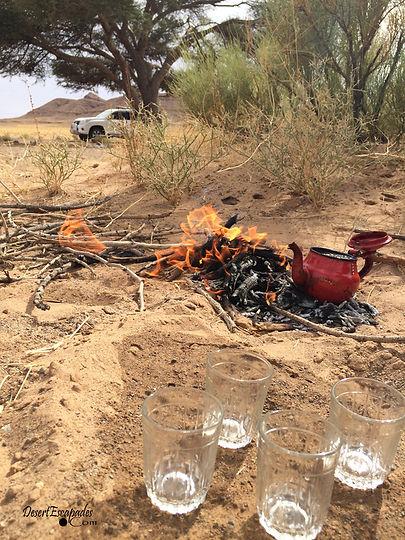 ment tea in the sahara desert, wild morocco, desert tours, chegaga dunes, desertescapades.com.jpg