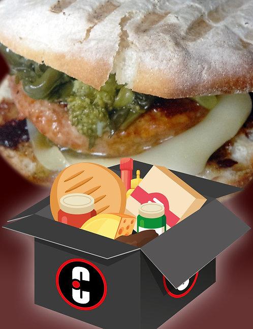 BOX CalaBRIOtto (contiene ingredienti per realizzare 8 panini gourmet)