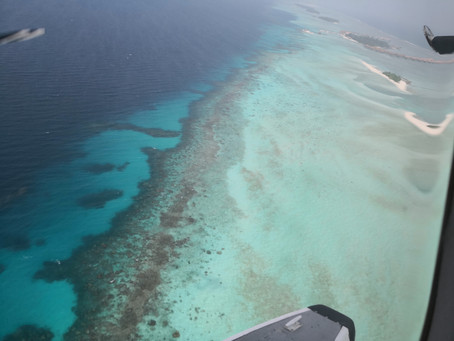 Arrivo a Como Maalifushi, Maldives.