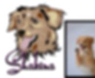 Comic-Hund