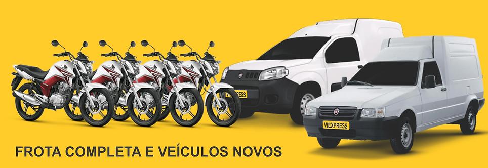 Motoqueiro, transportes, frota nova, motos novas, viexpress, entregas urgentes, motoboy