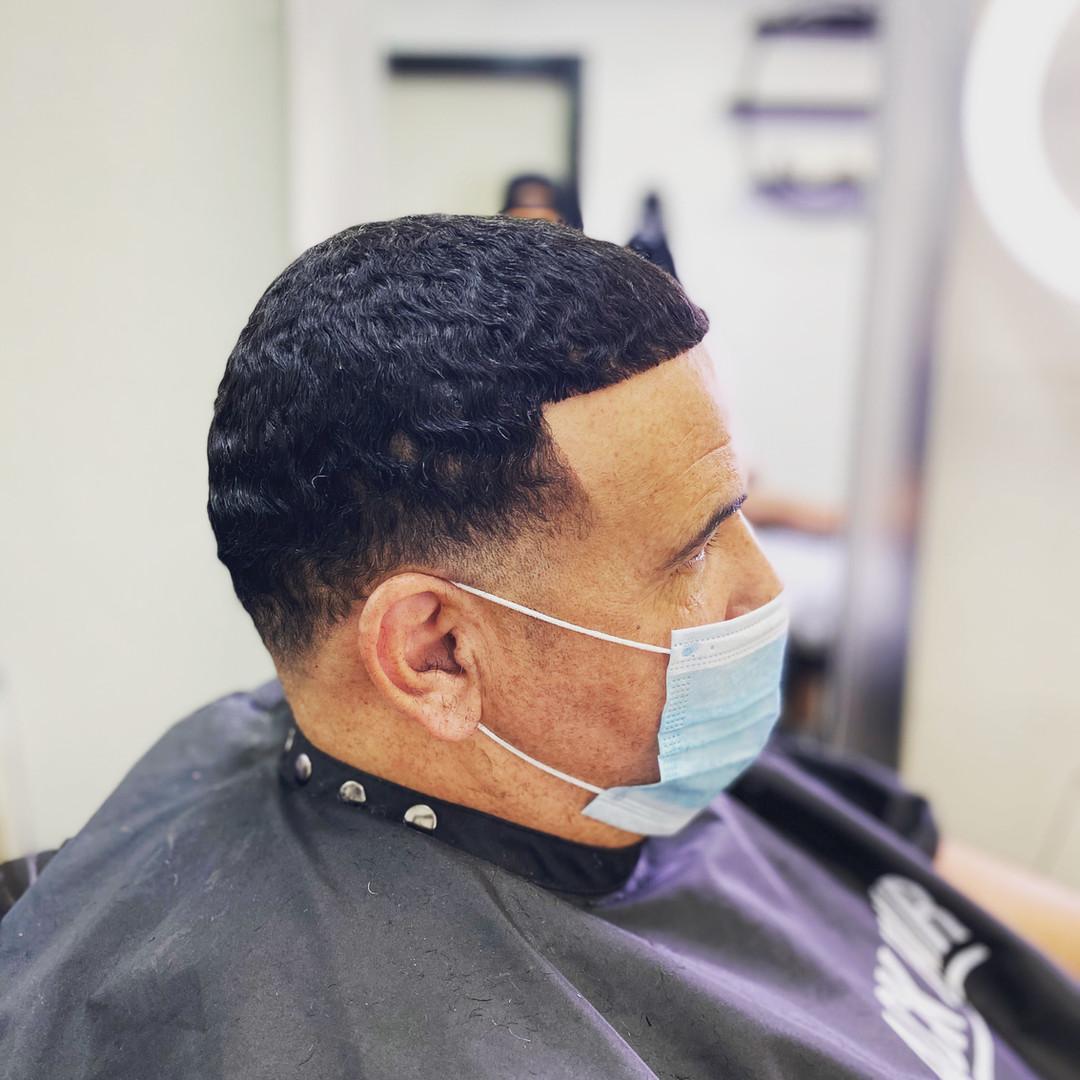 Hair unit wavy