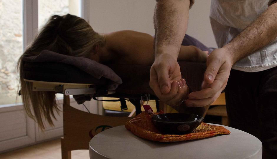 Votre masseur bien-être à domicile.