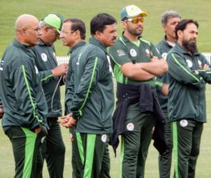 Disappointed Pakistani players