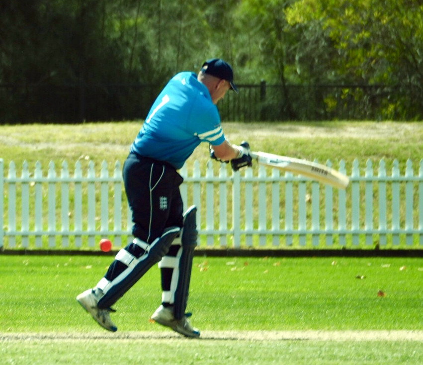 Foster picks up another leg-side single