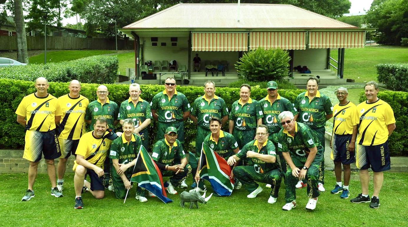 Informal team photo