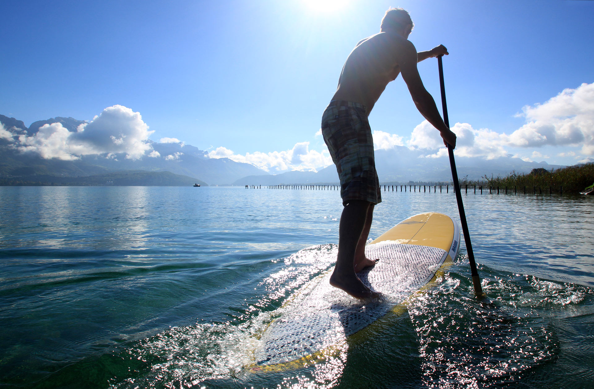 Stand up paddle d'Annecy
