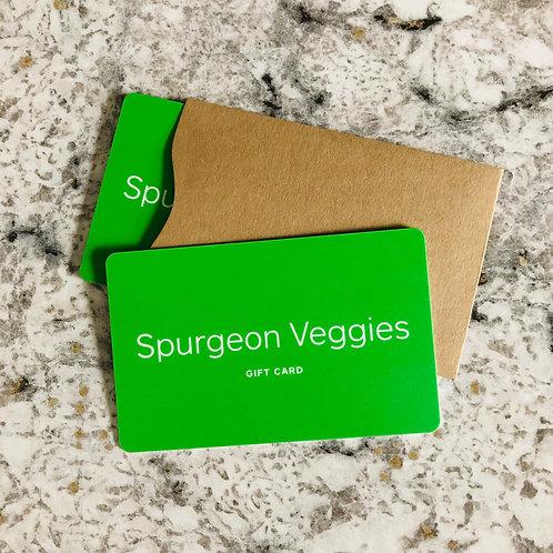 Farm Card - $115 Value