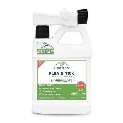 Ready-to-Use Flea & Tick Spray for Yard + Garden (32oz)