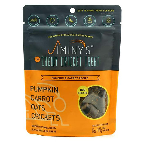 Pumpkin & Carrot Recipe Soft & Chewy, Training Treats (6oz)