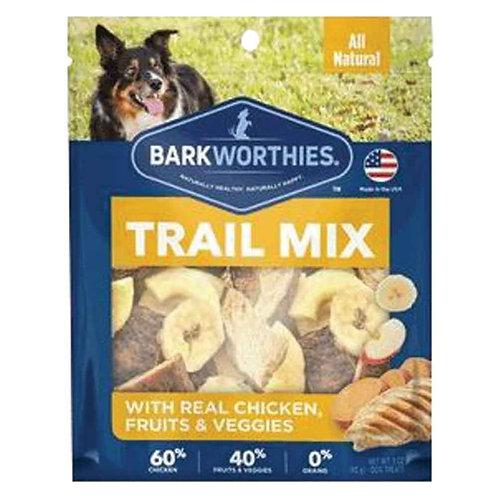 Barkworthies Chicken Trail Mix (3oz)