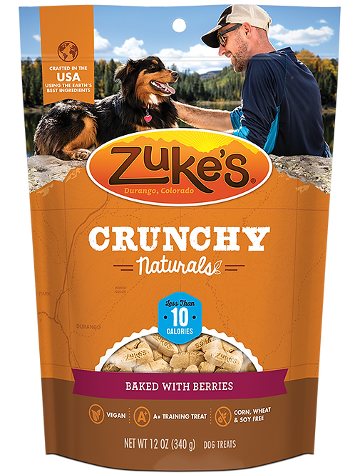 Crunchy Naturals 10s Baked with Berries (12oz)