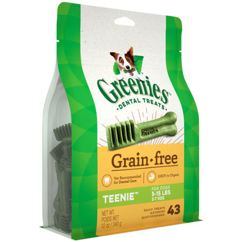 Greenies Grain Free Teenie (12oz)