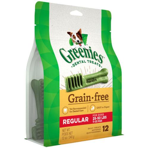 Greenies Grain Free Regular (12oz)