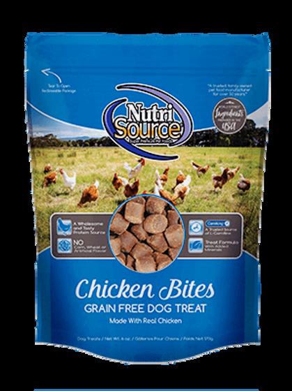 Nutrisource Grain Free Chicken Bites (6oz)