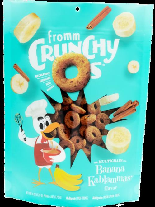 Fromm Crunchy O's Banana Kablammas (6oz)