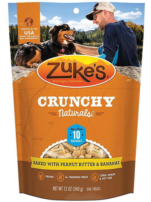 Crunchy Naturals 10s Baked with Peanut Butter & Bananas