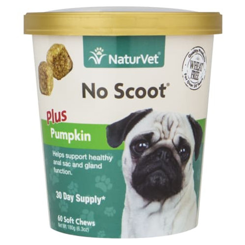 NaturVet No Scoot Dog Soft Chews (60ct)