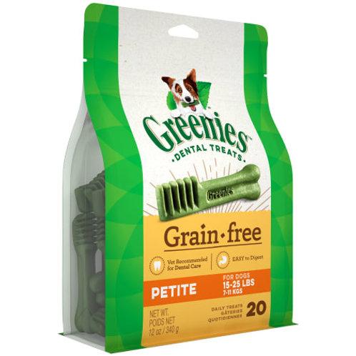 Greenies Grain Free Petite (12oz)
