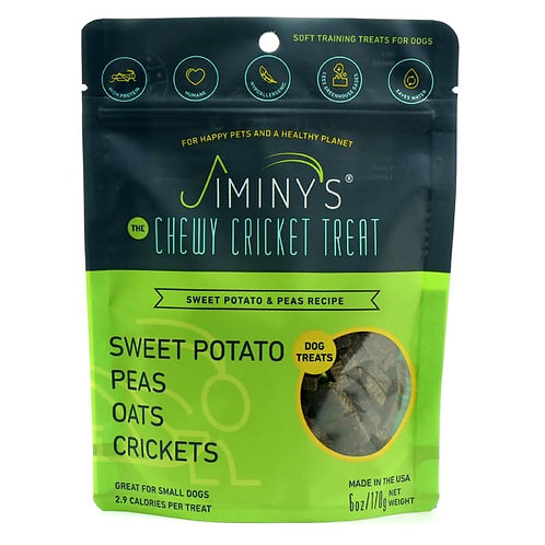 Peas & Sweet Potato Recipe Soft & Chewy, Training Treats (6oz)