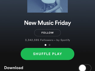 Mikey Wax Co-Writes Two Songs Both Featured On Spotify New Music Friday USA!