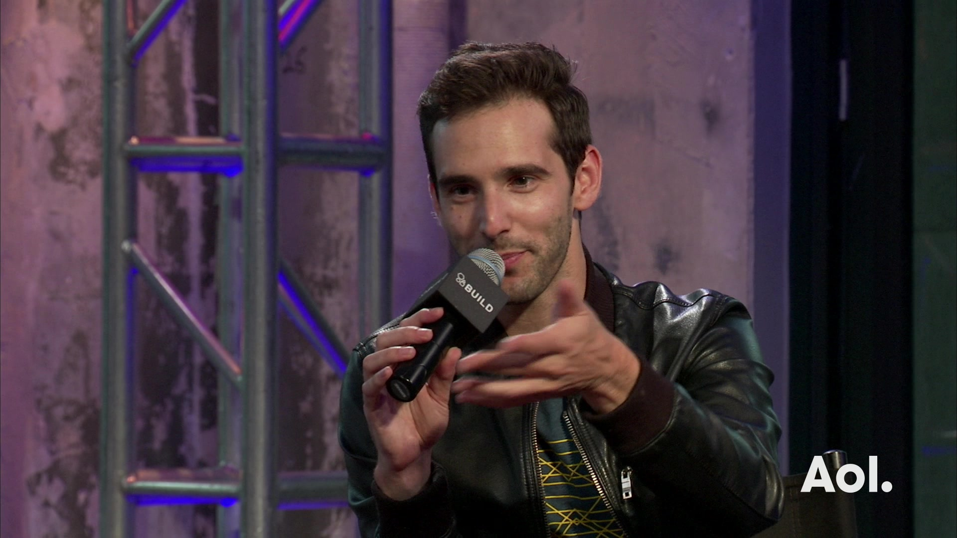 Mikey Wax live on AOL Build